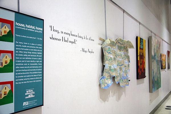 Asu Community Art Exhibit Explores The Idea Of Home Asu
