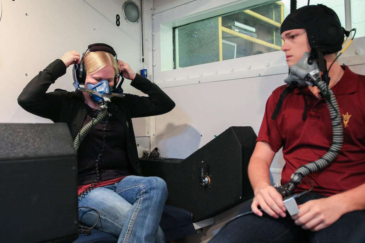 Online Business Schools >> Altitude chamber elevates pilots in training at ...