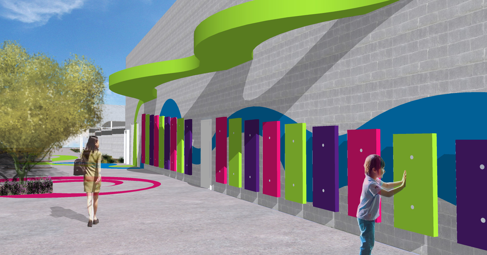 Design School Competition Yields Vibrant New Design For