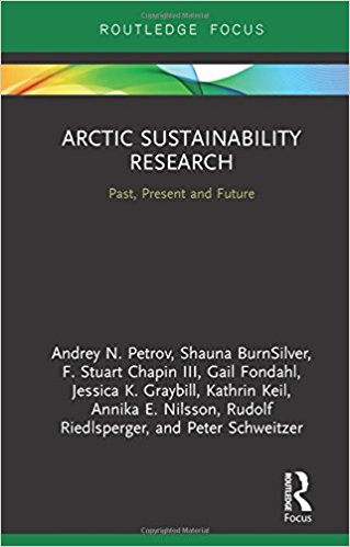 Arctic Sustainability Research book cover image