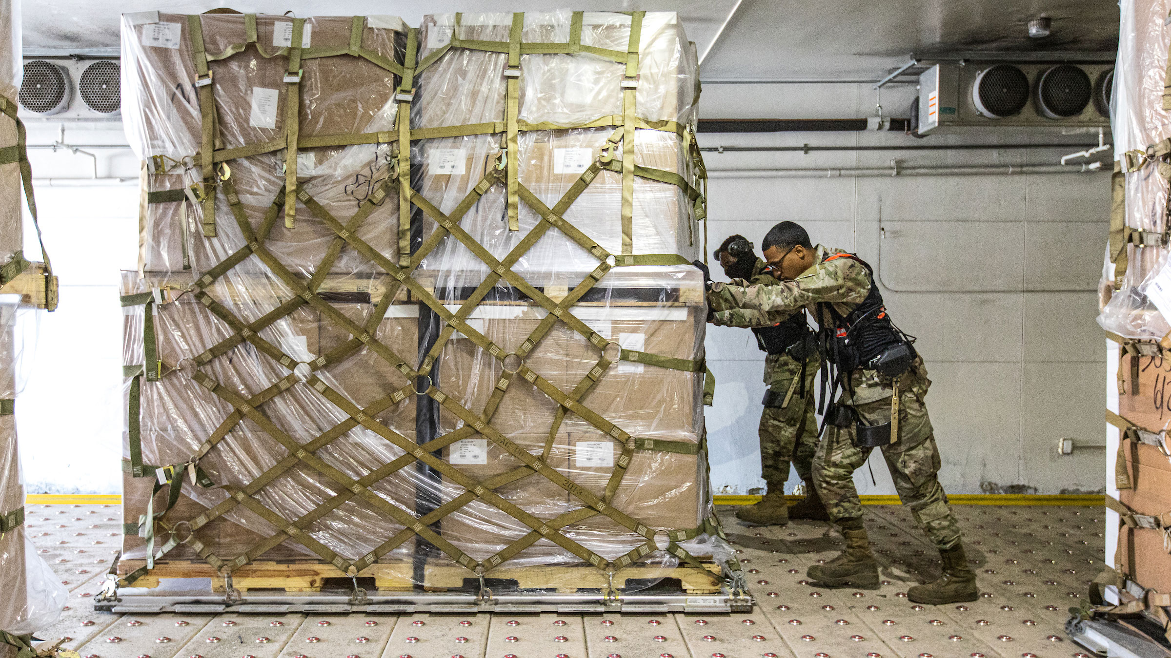 Air Force exoskeleton gets heavy lift from ASU