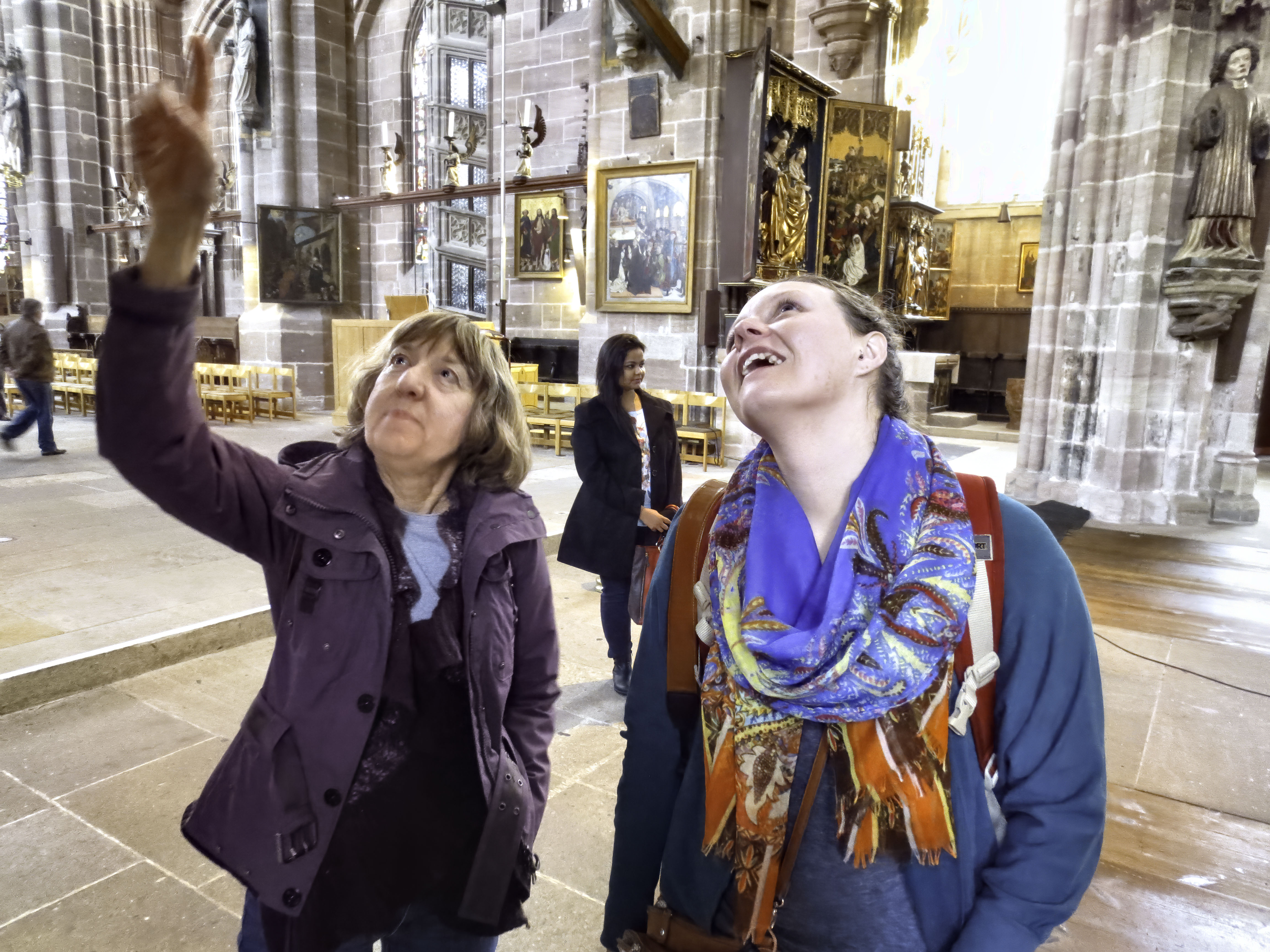 Intergenerational study sparks new art theory