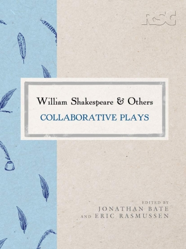 Cover of William Shakespeare and Others co-edited by Jonathan Bate
