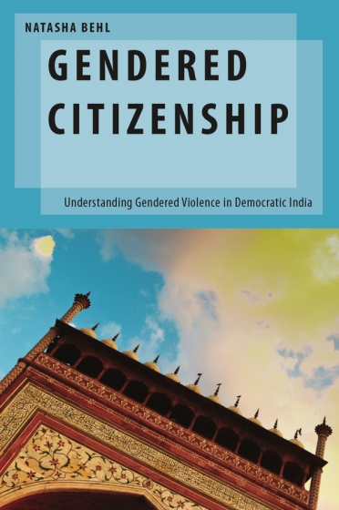 """book cover for """"Gendered Citizenship"""""""