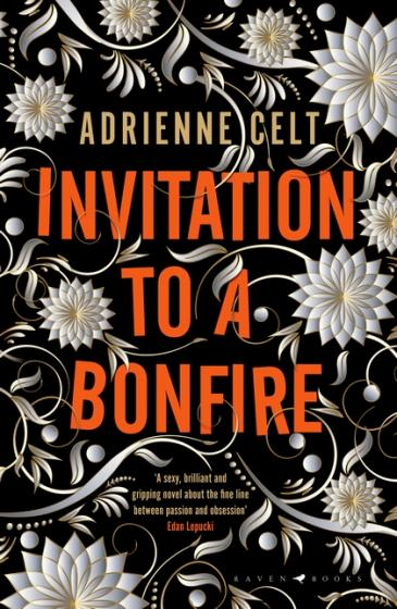 Cover of U.K. edition of Invitation to a Bonfire by Adrienne Celt