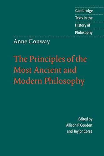 Cover of The Principles of the Most Ancient and Modern Philosophy co-edited by Taylor Corse