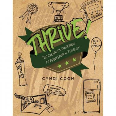 Book cover with illustrations on it of awards