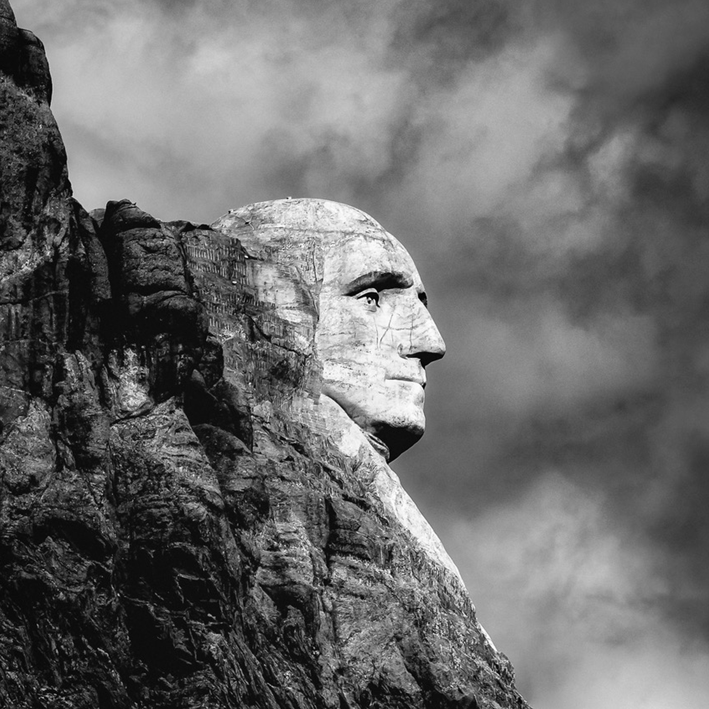 side of Mount Rushmore