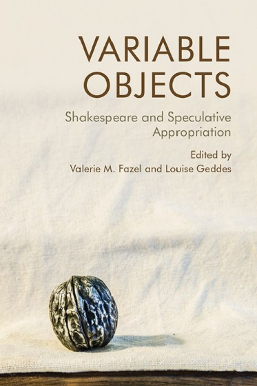 Cover of Variable Objects edited by Valerie Fazel and Louise Geddes