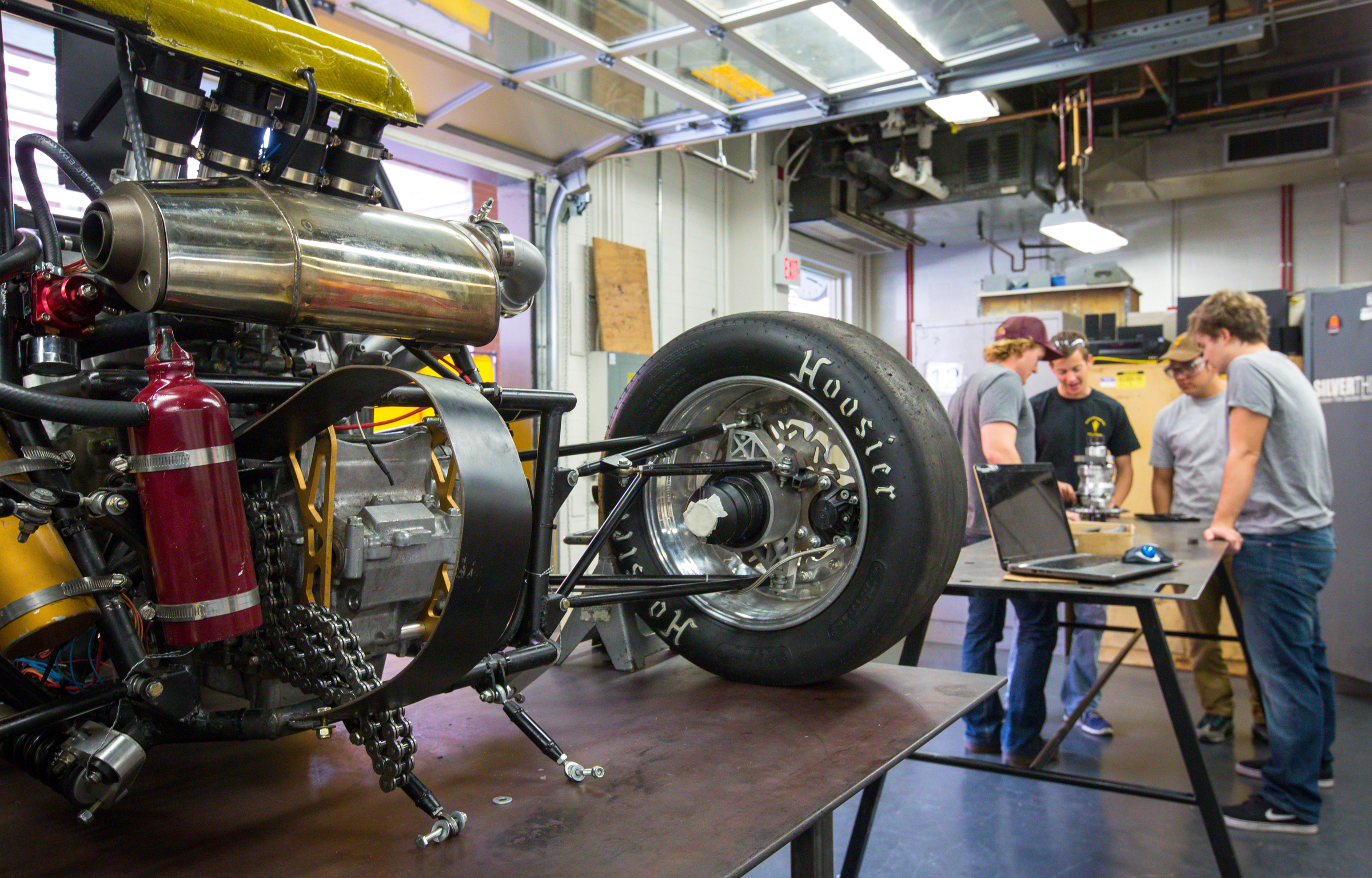 Tempe Drift How an underdog student engineering team is building a