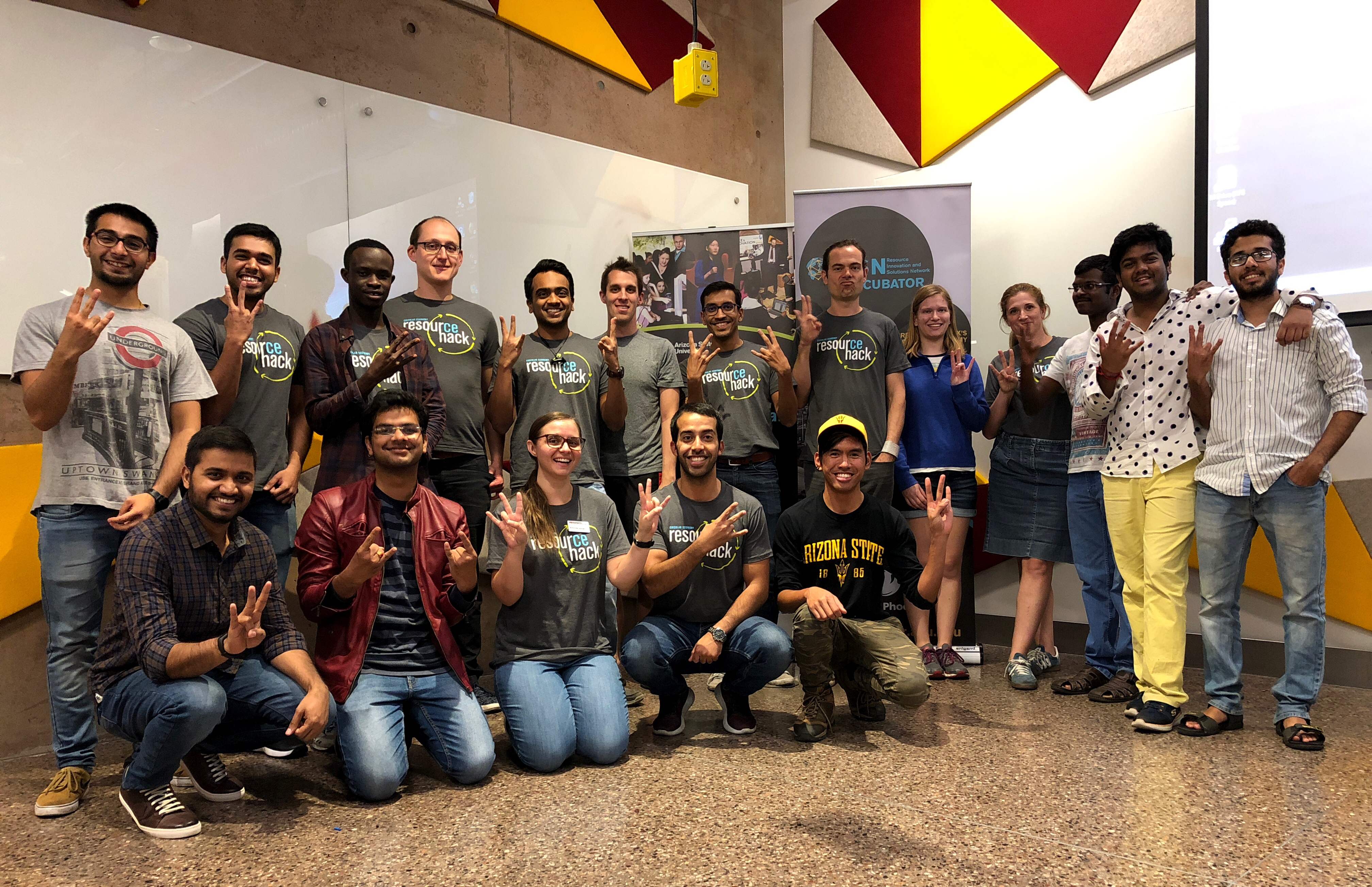 asu, unsw students innovate to create zero waste | asu now: access