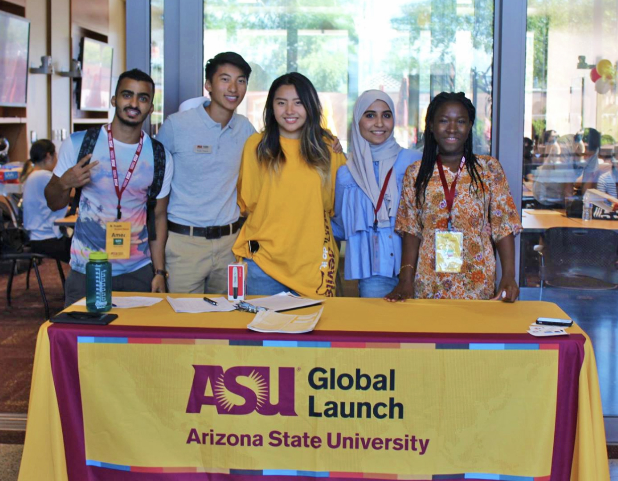global launch continues contribution to asu student enrollment