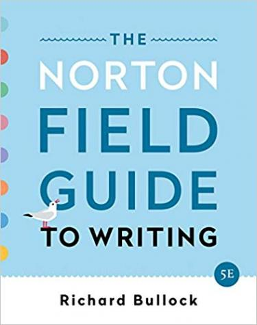 Cover of The Norton Field Guide to Writing co-authored by Maureen Daly Goggin