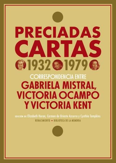 Cover of Preciadas Cartas (1932-1979) co-edited by Elizabeth Horan