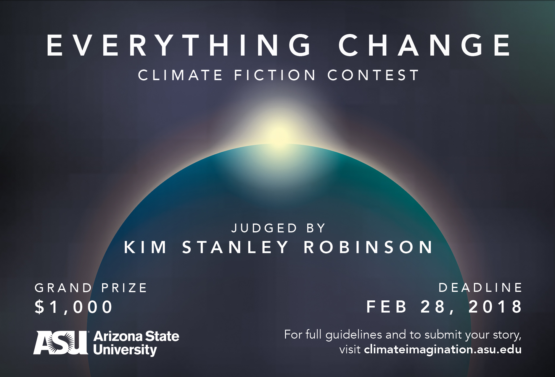 Deadline for Everything Change Climate Fiction Contest is