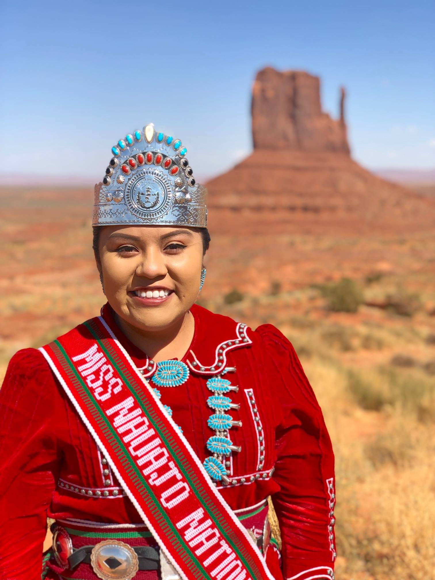 Public Service With A Crown Asu Alumna Becomes Miss Navajo Nation Asu Now Access Excellence Impact