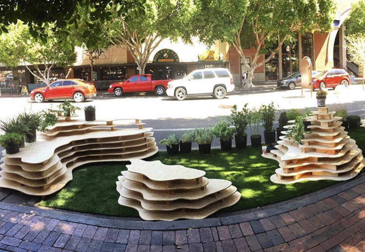 Landscape architecture students invite community to spend the day in the shade