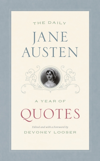 Cover of The Daily Jane Austen by Devoney Looser