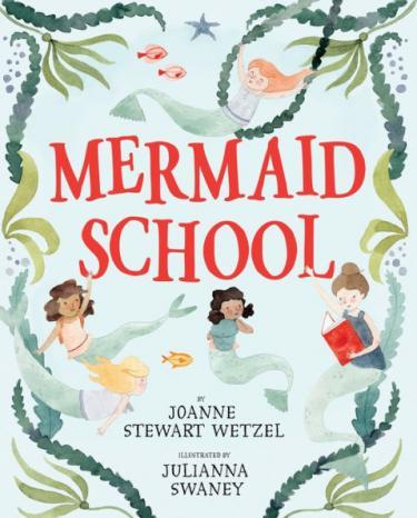 Mermaid School book cover image