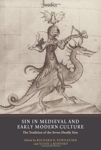 Cover of Sin in Medieval and Early Modern Culture