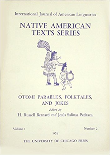 Otomi Parables book cover