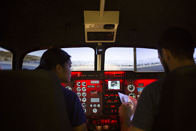 Training system helps ASU aviation students take wing | ASU Now: Access, Excellence, Impact