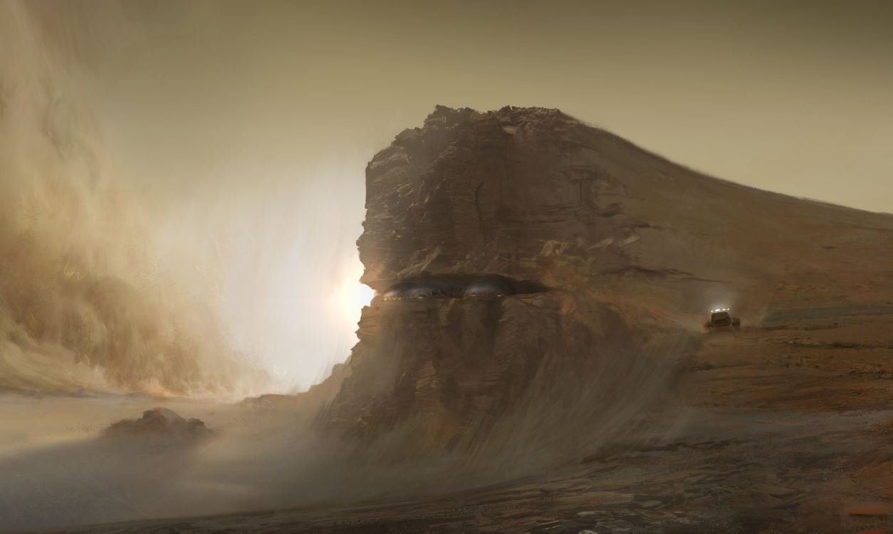 A tournament on Mars Madness imagines life on the red planet