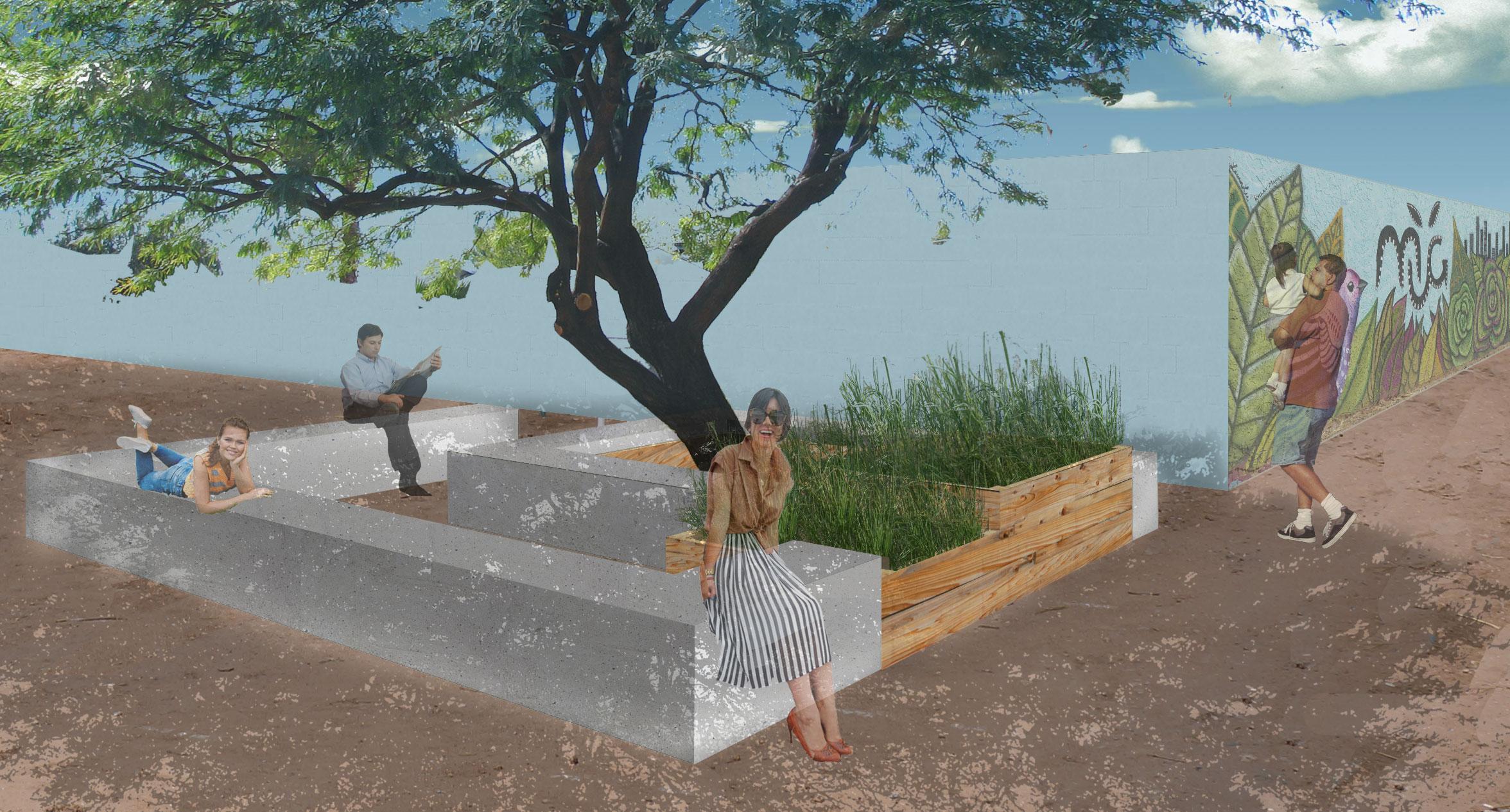 Asu design students help grow community at mesa urban for Help design my garden