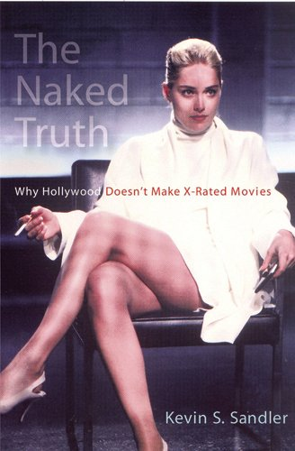 """Cover of """"The Naked Truth"""" by Kevin Sandler featuring a photo of a woman sitting in a chair"""