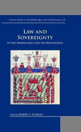 Cover of Law and Sovereignty in the Middle Ages and the Renaissance
