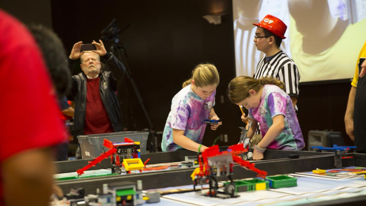 team competing in the Arizona FIRST LEGO League