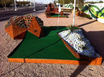 Design School Scores Hole In One At Phoenix Open Asu Now