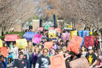 MLK March on ASU's West campus