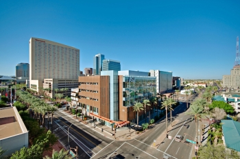 Health North building at the Downtown Phoenix campus