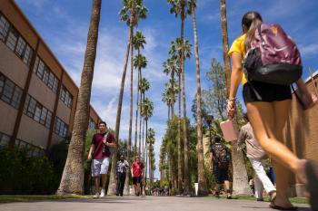 ASU's Palm Walk Students Arizona State University