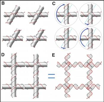 Scientist twist DNA to make new nano structures