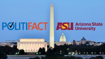 The Poynter Institute's PolitiFact will move its offices to Arizona State University's campus in the heart of Washington, D.C., in a unique collaboration that will expand training in fact-checking journalism, create a new website to fact-check Arizona pol