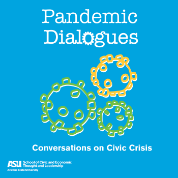 Pandemic Dialogues Podcast logo