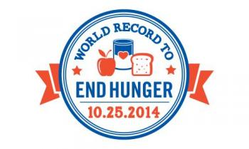 World Record to End Hunger event graphic