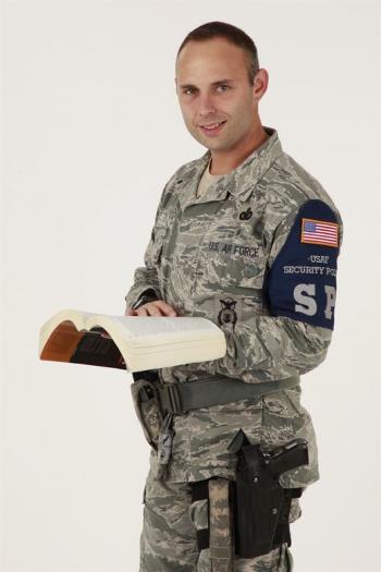 Air Force Master Sgt. Shaun West