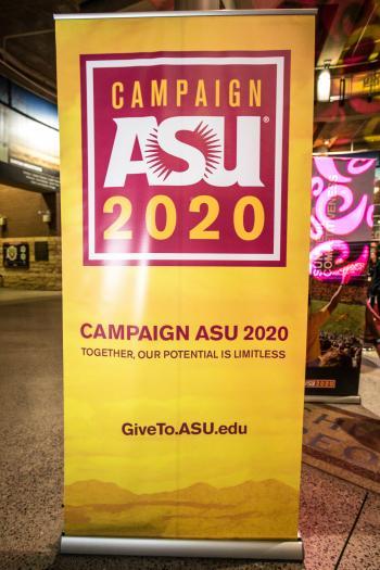 Campaign ASU 2020 banner