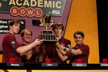 2012 ASU Academic Bowl winning team