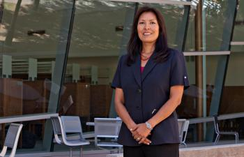portrait of Diane Humetewa, ASU special advisor to the president