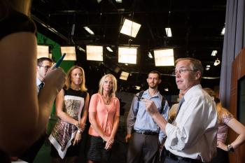 Cronkite News team meeting