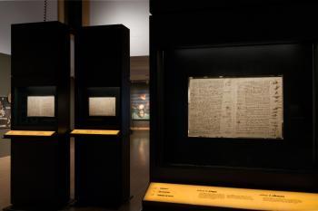 Leonardo da Vinci's Codex Leicester exhibit at the Phoenix Art Museum