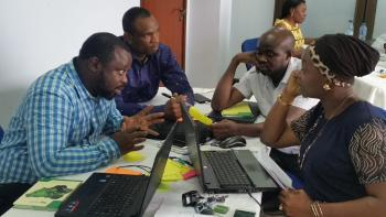 ASU Ethical Circular Economy workshop in Lagos, Nigeria