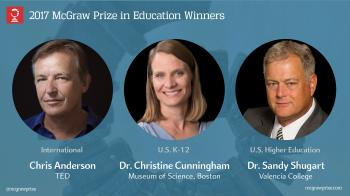 Winners of the 2017 McGraw Prize