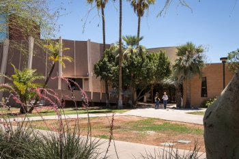 Armstrong Hall building on ASU's Tempe campus