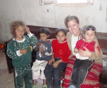 Wofford doing community outreach in rural Egypt