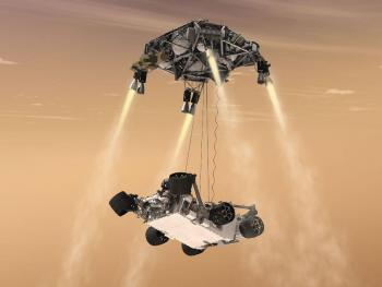 Curiosity rover lands safely on Mars